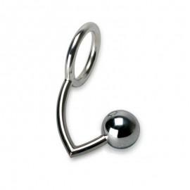 Anello fallico con palle anale (Small) - Rimba