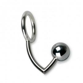 Anello fallico con palle anale (Medium) - Rimba