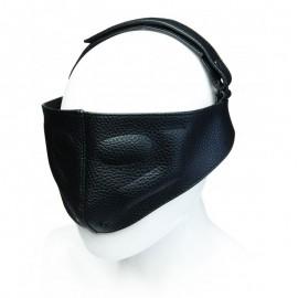 BDSM Leather Blindfold - Doc Johnson