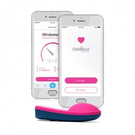Vibrating Thong with remote control Bluetooth Bluemotion NEX 1- OhmiBod