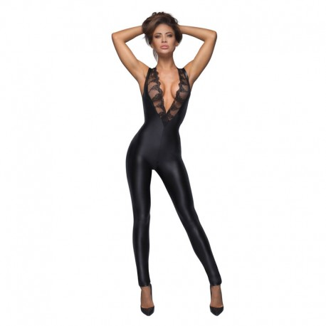 Body Stocking F167 - Noir Handmade