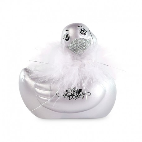 Vibrating Duck - Paris Duckie 2.0 Travel Size (silver)