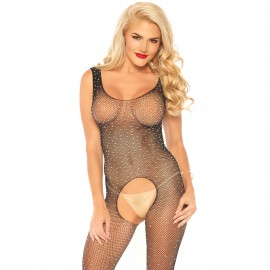Sexy Bodystocking Crystalized - Leg Avenue