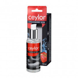 Ceylor Strawberry Kiss - Gel lubricant flavored with strawberry