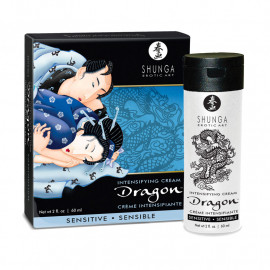 Crema di virilità Shunga Dragon (Sensitive) 60ml