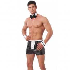 Sexy Boxer Gigolo Set (nero) - Rimba