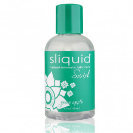 Flavored intimate lubricant Green Apple - SLIQUID Swirl 125ml