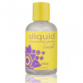 Flavored intimate lubricant Pina Colada - SLIQUID Swirl 125ml