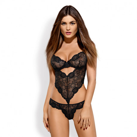Black Sexy Teddy Alluria – Obsessive