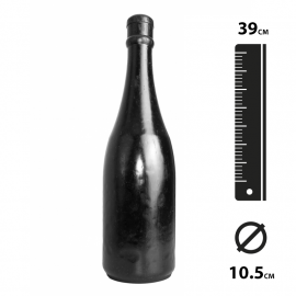 Flasche Riesendildo Anal Fist - All Black