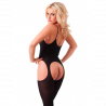 Open Sexy Catsuit Hot (black) - Rimba