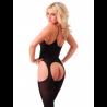 Open Sexy Catsuit Hot (black) - Rimba