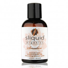 Vegan stimulating lubricant - SLIQUID Sensation 125ml