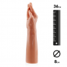 Giant Dildo MAGIC HAND 36cm (flesh) - Rimba
