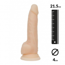 Realistic Dildo - Naked Addiction