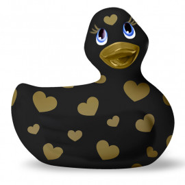 Vibrating Duck - I Rub My Duckie 2.0 Romance Black & Gold