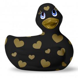 Vibrierende Ente - I Rub My Duckie 2.0 Romance Schwarz & Gold