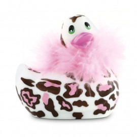 Vibrierende Ente - I Rub My Duckie 2.0 Wild (Panter)