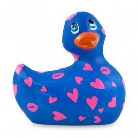 Vibrierende Ente - I Rub My Duckie 2.0 Romance (Purple & Pink)