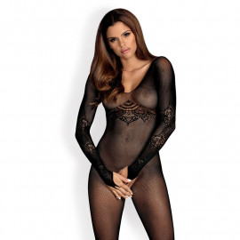 Fishnet Sexy bodystocking (black) - Obsessive N120