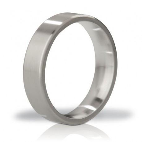 Anneau pénien métalic Mystim - His Ringness Duke Brushed