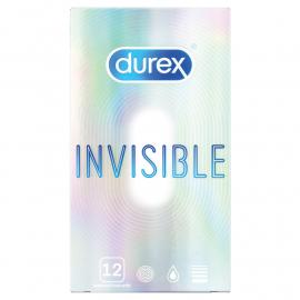 Préservatifs Durex Invisible 12 pc