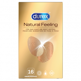 Preservativi Durex Natural Feeling senza latex 8pc