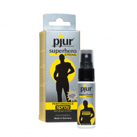 Pjur Superhero Strong 20 ml - Desensibilizzante Spray