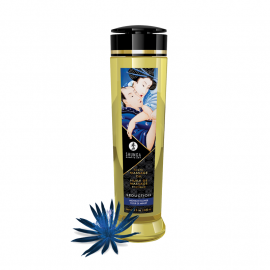 Olio da massaggio erotico - Shunga Midnight Flower