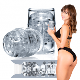 Fleshlight Quickshot Riley Reid Compact Utopia (transparent) - Masturbateur