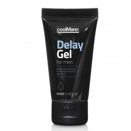 Crème retardante CoolMann Delay Gel 40ml