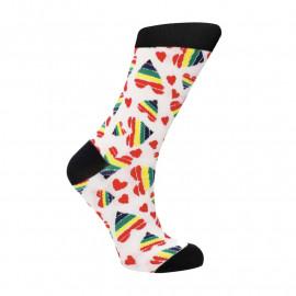 Sexy Socks 'Happy Hearts' - Calzini sexy