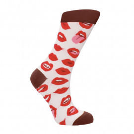 Sexy Socks 'Lip Love' - Sexy Socken