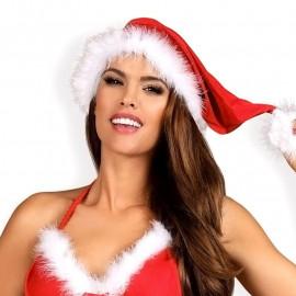 Sexy cappello di Natale di Babbo Natale (rosso) - Obsessive