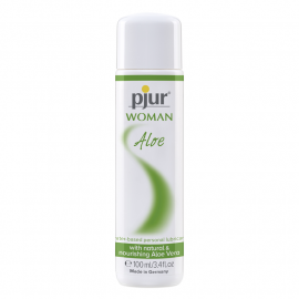 Lubrifiant Pjur Woman Aloe (à base d'eau) 100ml