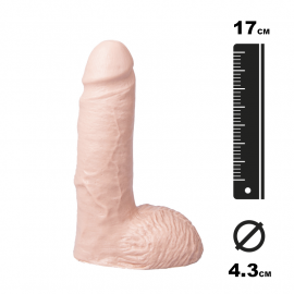 Large Analplug Marcel flesh - Hung System