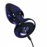 Vibrating Anal glass plug - Icicles No 85