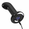 Vibrating Anal glass plug - Icicles No 84