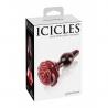 Anal glass plug - Icicles No 76