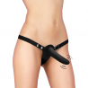 Vibrating Silicone Strap-On Adjustable - Ouch