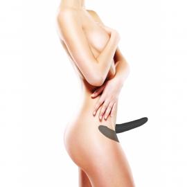 Doppio Fallo cintura Silicone Strap-On Adjustable - Ouch