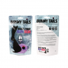 Mini Buttplug Bunny Tail (purple) - Feelztoys