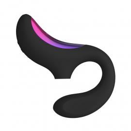 LELO Enigma (Schwarz) - Klitoris & G Pink Stimulator