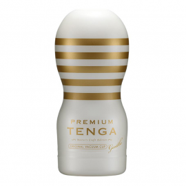Tenga Premium Masturbator - Original Vacuum Cup Strong