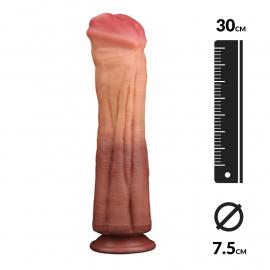 Pferdepenis doppelte Dichte (30cm) - LoveToy Nature Cock