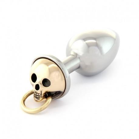Plug anale Rosebuds M Skull