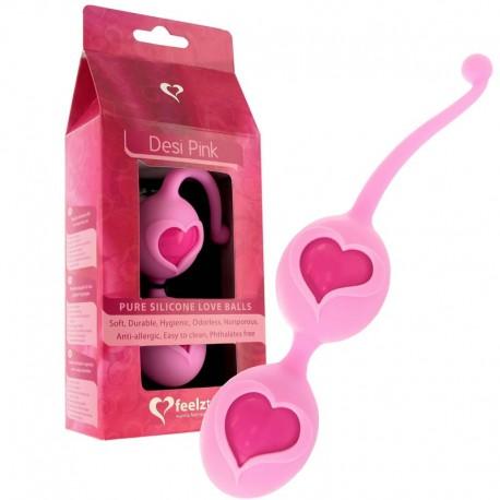 Liebesbälle Desi Feelz Toys - Pink