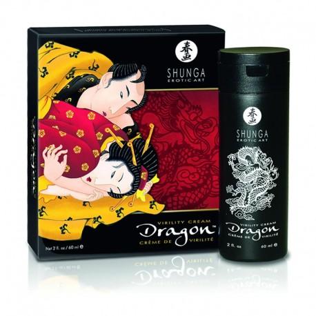 Shunga - crème de virilité dragon 60ml