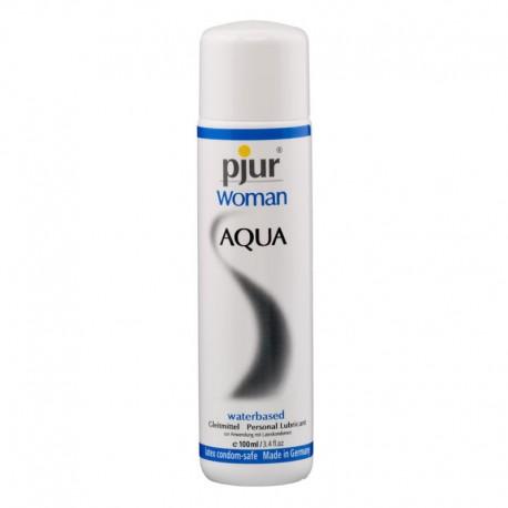 Lubrifiant féminin Pjur Woman Aqua 100ml