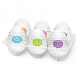 Oeufs de masturbations - Tenga assortiment (pack de 6)